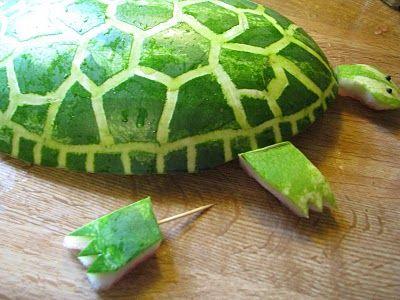Watermelon Turtle!