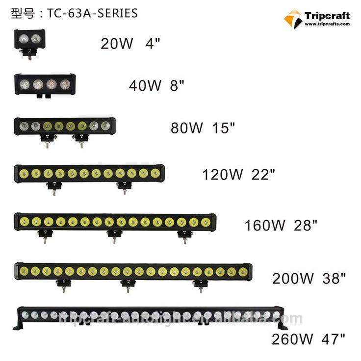 "OffRoad ATV 47"" 260w LED Light Bar ATV 4x4 Polaris Offroad Tractor Marine Truck Raptor 47inch 260W offroad led light bar"