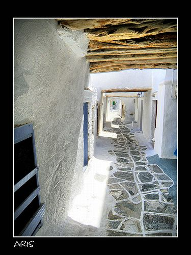 Sifnos (Kastro) island in Greece
