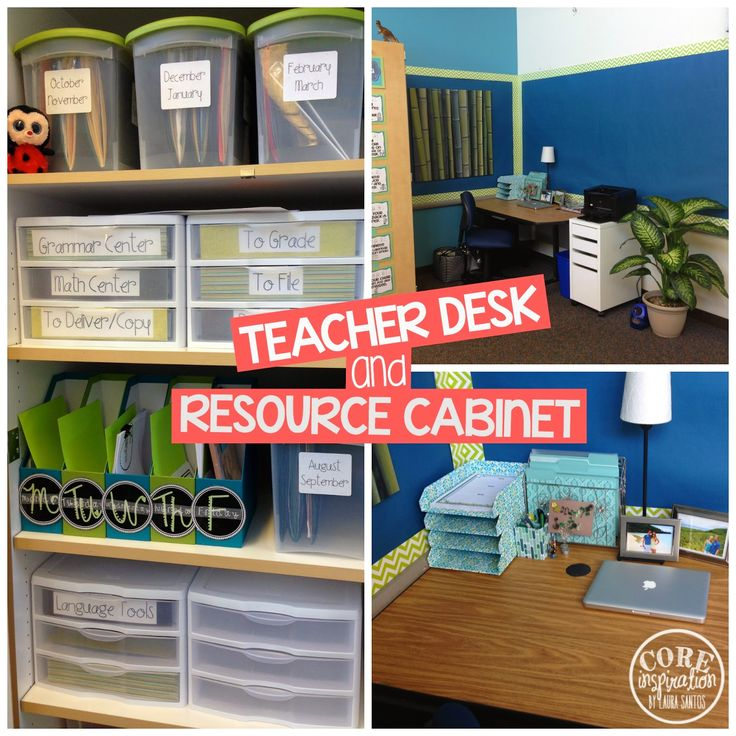 17 best ideas about teacher desk organization on pinterest - Classroom desk organization ideas ...