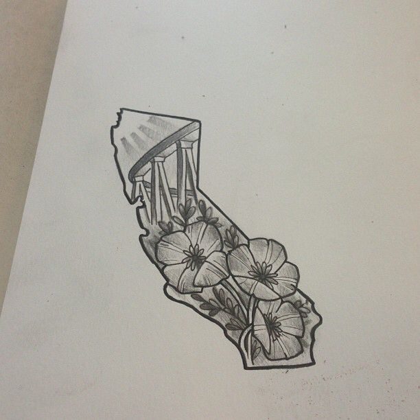 25+ best ideas about California poppy tattoo on Pinterest ...