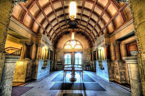 Orton Foyer, Ohio State University