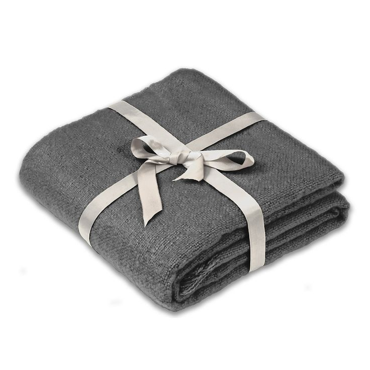 Julian Charles Whisper Grey casual throw
