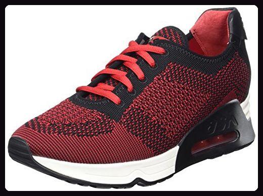 ASH Lucky, Damen Sneakers, Rot (red/black 003), 40 EU - Sneakers für frauen (*Partner-Link)