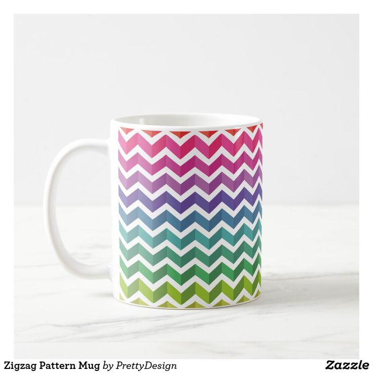 Zigzag Pattern Mug