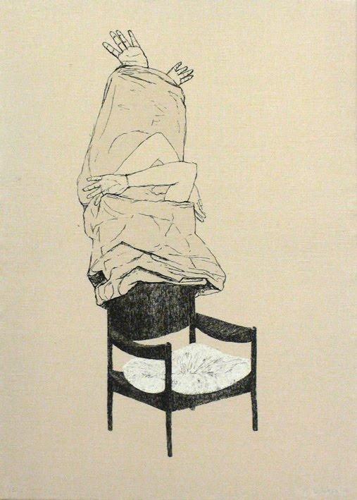 Arte y Grabado: Almudena Lobera - 'Becas de Grabado Galería Nuevoarte'