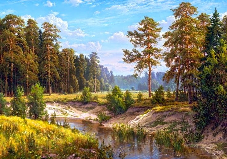 Живописные пейзажи. Владимир Басов | Life on Photo