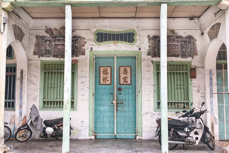 21 Cute Doors and Windows in Penang, Malaysia