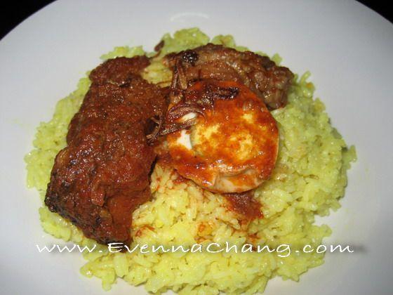 Nasi Kuning Banjar | Happy Cooking with Evenna Chang