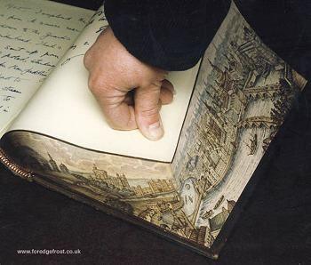 book edge painting