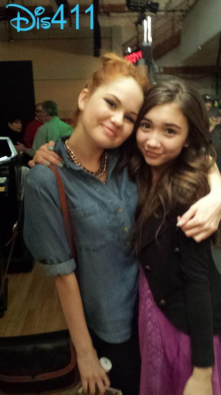 girls world mag 2014 rowan blanchard | Rowan and Debby snapped a photo together and Rowan tweeted a sweet ...