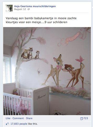 Anja Upload Louter De Schilderingen Die Ze Maakt En Deze Bleken Zo In Trek  Dat Door De Virale Kracht Van Facebook De Pagina In No ...