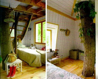 Tree house for rent in Nantes, France