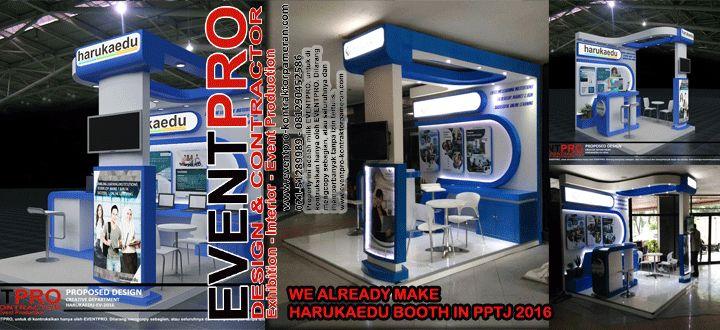 JASA PEMBUATAN BOOTH | DESIGN AND BUILD | http://www.eventpro-kontraktorpameran.com