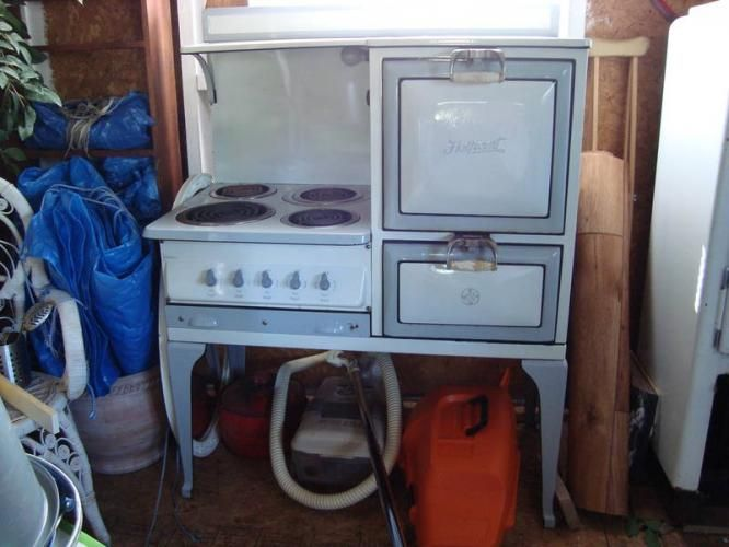 Antique Electric Stoves For Sale | 1930's Antique GE Hotpoint Electric Stove Vintage for sale in Thunder ...