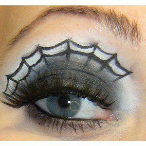 So cool for Halloween!!!: Halloween Costume, Halloween Eye, Halloween Idea, Spider Webs, Eye Makeup, Halloween Makeup, Spiderweb Eye, Makeup Idea, Eyes