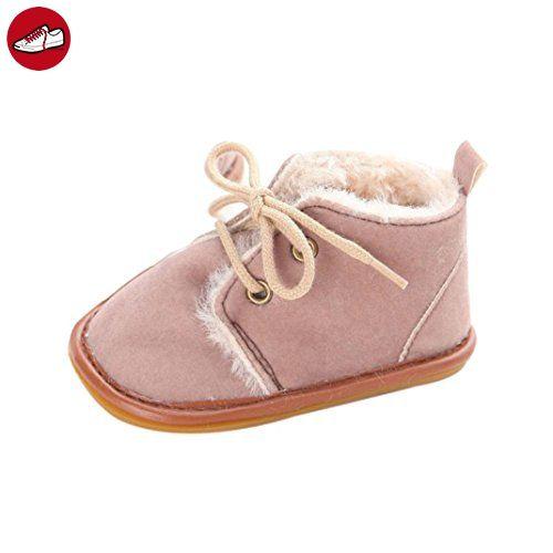 Tefamore Baby Kleinkind Säugling Schneeschuhe Schuhe Gummischuhe ausschließlich Prewalker Krippe (12, Braun) (*Partner-Link)
