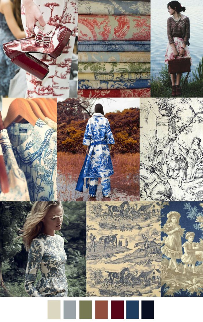 COUNTRY TOILE - Stunning for Fall/Winter 2016
