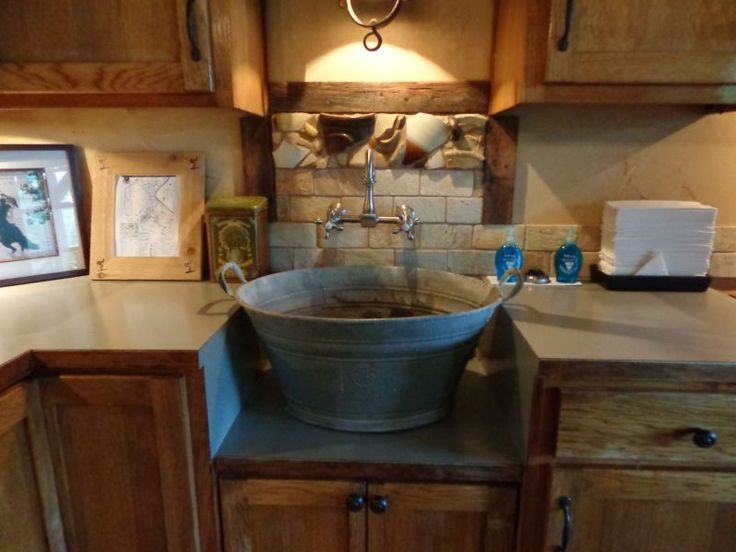 Kitchen Sink Wash Tub : ... tiny kitchens kitchens and bathrooms kitchen bucket tubs sinks forward