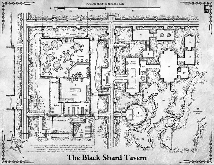 2292 best images about maps on pinterest ruins dungeon for Floor 2 dungeon map