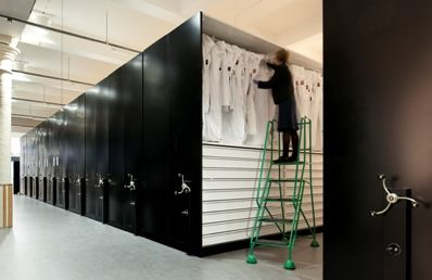 Mobile Storage Units at the V&A Museum | Rackline