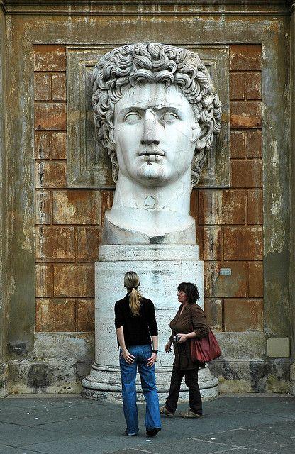 Ancient Statue in the Vatican Museum | Emperor Augustus