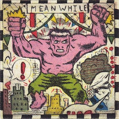 Tony Fitzpatrick : Bazooka Hulk at Davidson Galleries