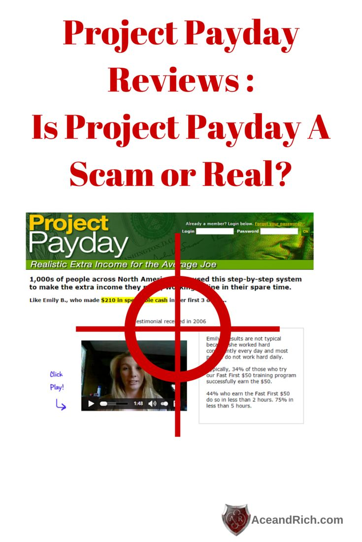 Project Payday Reviews | Is Project Payday A Scam or Real? on Ace And Rich    http://aceandrich.com