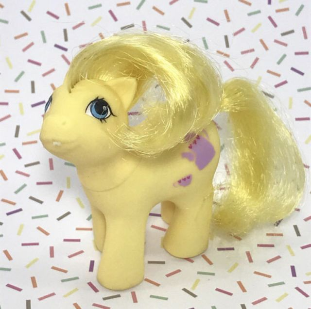 Vintage My Little Pony Baby Crumpet Yellow Tea Pot Symbol | eBay