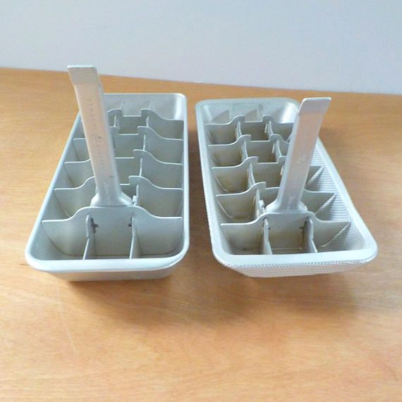 25 best metal ice cube trays ideas on pinterest. Black Bedroom Furniture Sets. Home Design Ideas