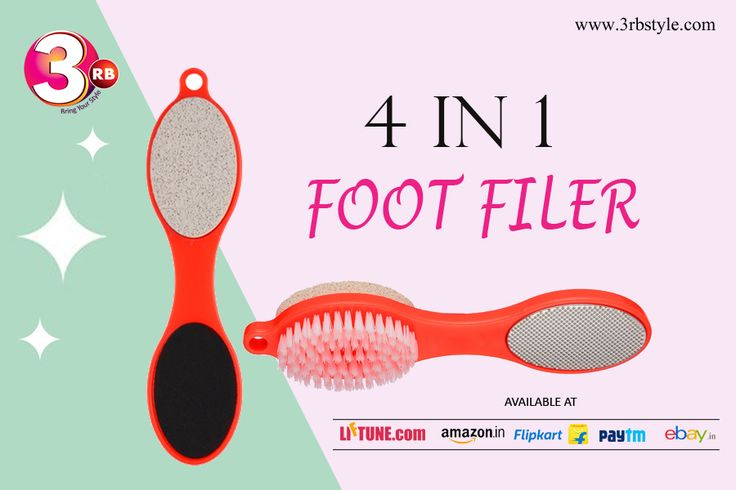 4-in-1 foot wand after a bath or shower while skin is softened to smooth and refine rough skin. For smooth feet: scrub feet and between toes with the brush, use the metal rasp to rub away dry skin, gently rub the pumice on rough patches to soften and smooth, and use the file for buffing skin. Leaves Pedicure Soft and Smooth. Gets rid of rough skin and calluses.