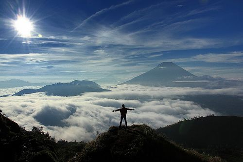 Sunrise at Sikunir Hill (Bukit Sikunir) || Dieng, Jawa Tengah, Indonesia