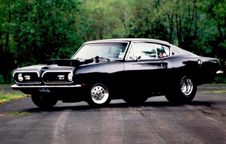 '69 Hemi-Barracuda - I remember back, fast cars.