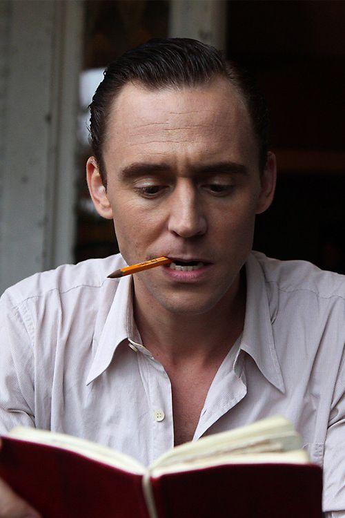 Tom Hiddleston as Hank Williams in I Saw The Light. Full size image: http://ww4.sinaimg.cn/large/6e14d388gw1f1d4yc3q7dj21010qotek.jpg Source: http://sonyclassics.com/ Via Precursor Press, Tumblr