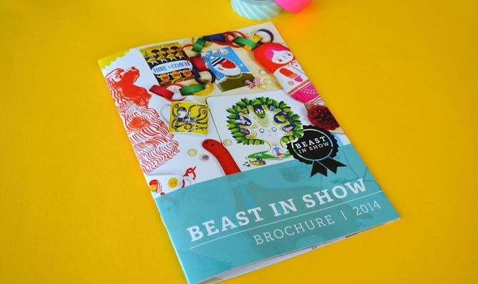 Print: Beast in Show Brochure - HelloWilson Graphic Design | Branding and graphic design for new and growing independent businesses in Edinb...