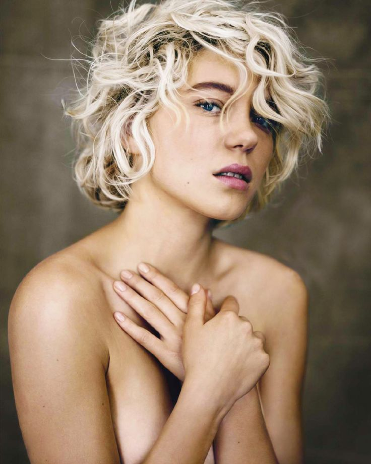 : Lea Seydoux Shorts Hair, Beautiful Gorgeous, Actresses Female Celebrity, Hair Colors, Léa Seydoux, Blondes Bobs, November 2013, Warmest Colors, Fotograma Magazines
