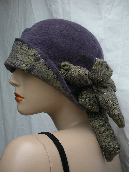 Nuno felted hat - Els Martens--wow!