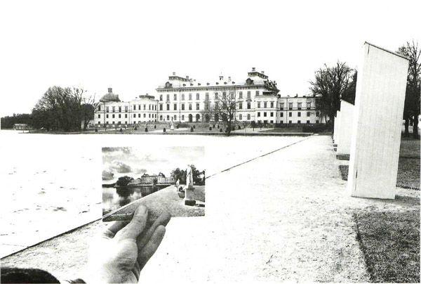 KENNETH JOSEPHSON. Drottningholm, Sweden, 1967.  Gelatin silver print.
