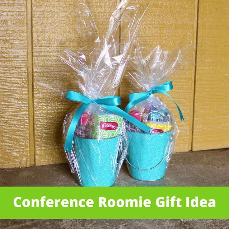 8 best blogging conference roomate gift ideas images on pinterest blog conference roommate gift idea cute little bucket of essentials such as tissues antisecptic negle Images