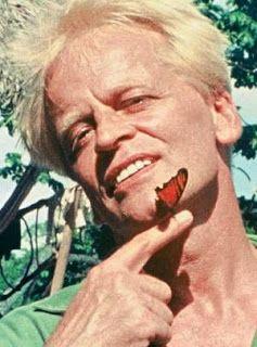 Pity the butterfly - Klaus Kinski  (born Klaus Günter Karl Nakszynski; 18 October 1926 – 23 November 1991)