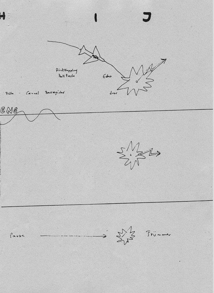 """drefenn: """" endlesskraftwerk: """" Vom Himmel Hoch by Florian Schneider-Esleben (source: Info-Non-Stop.de) """" Florian's idea of sheet music. """""""