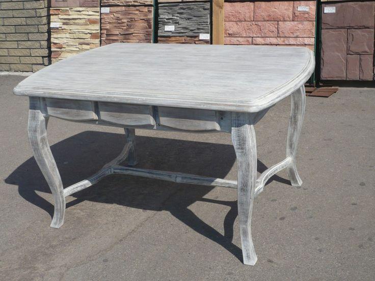 Дубовая мебель состаренная белой кальк пастойГолден Вейф , лак АВИС тимберкоат