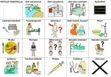 http://papunet.net/materiaalia/sanastoja-terveydenhuoltoon  finnish web site with pictogramms----site finlandais avec pictogrammes pour la santé entre autres