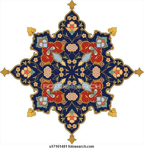 Arabesque Designs (page 3) - stock illustration clip art. Buy royalty free clipart images on disc by Lushpix Illustration.