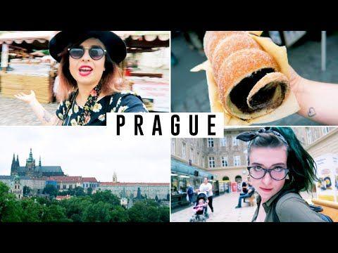Irish blogger ANDERZ in Prague.