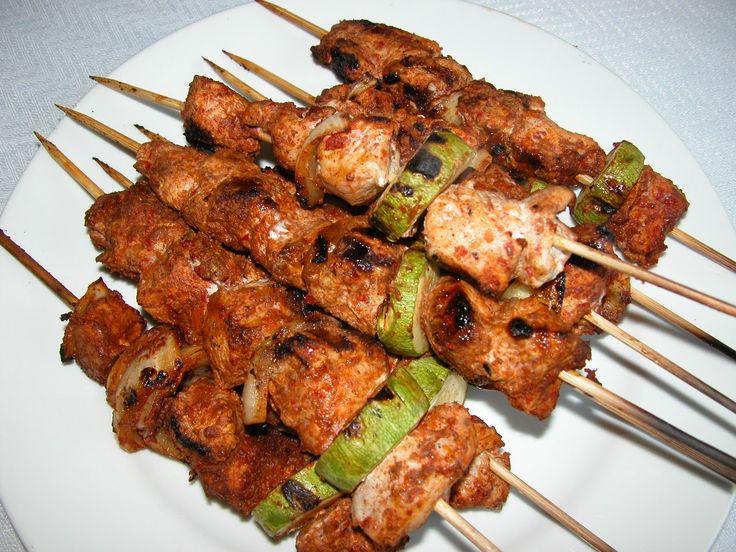 Шиш-таук — куриные шашлычки родом из Ливана — Вкусные рецепты