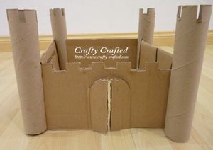 Kitchen Paper Roll Castle - Europe study