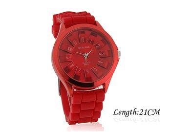 Armbandsur WoMaGe - Sun (röd) #womage #modeklockor #modeur #smyckesur #fashion #damklockor #damklocka #klocka #klockor #herrklocka #herrklockor #runns #watch #watches