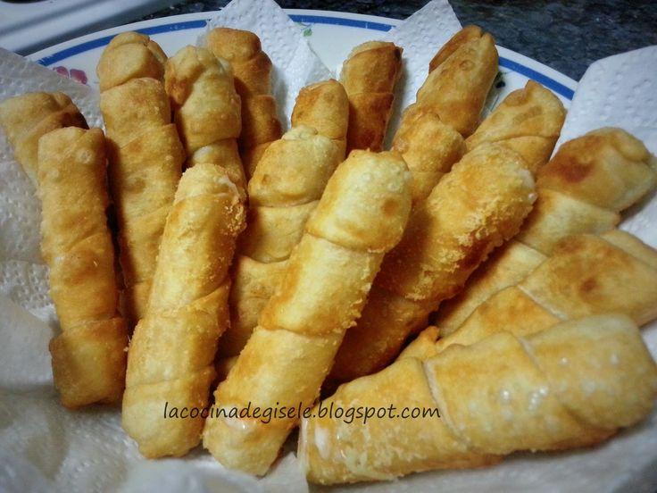 La cocina de Gisele: Tequeños Venezolanos rellenos de queso