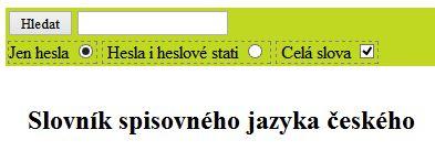 Słownik języka czeskiego
